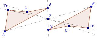 Beispiel Punktspiegelung Schritt 4