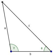 Fertiges Dreieck