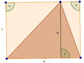 Dreieck im Rechteck