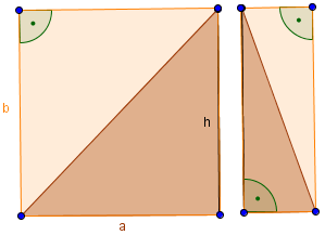 geteiltes Dreieck
