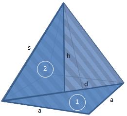 Mantelflache berechnen dreieck
