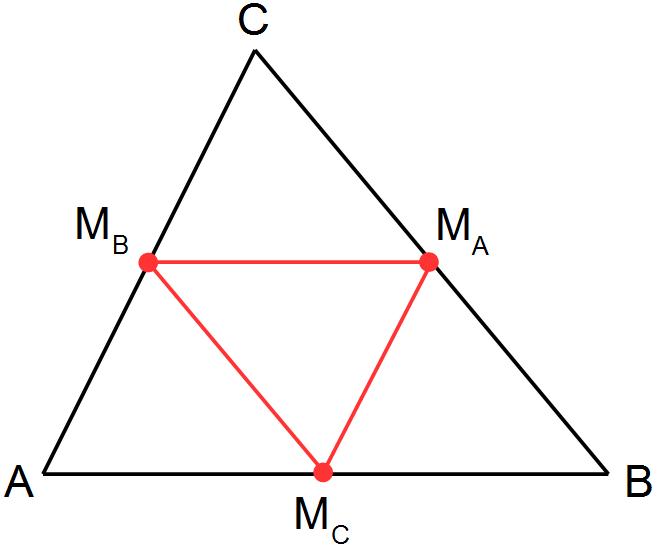 Mittellinien Im Dreieck Leicht Ausführlich Erklärt