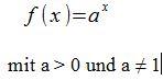 Exponentialfunktion
