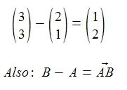 formel vektorr