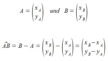 formelll ebenen vektor