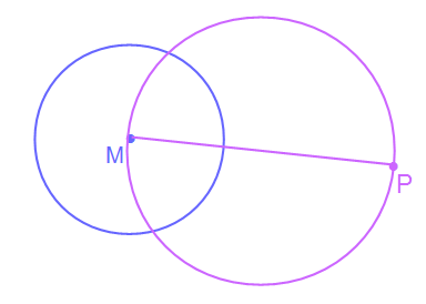 Kreis mit MP als Durchmesser