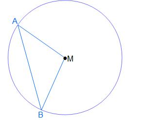 Dreieck ABM