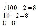 Gleichung quadriert