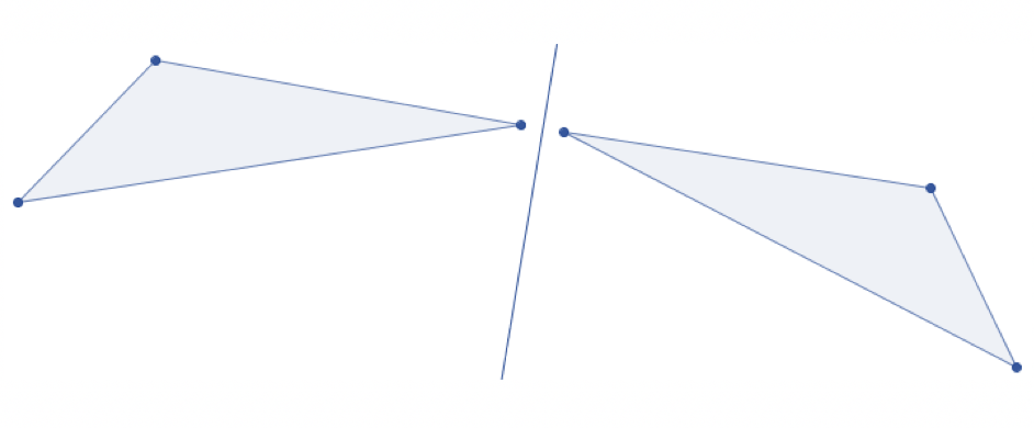 Achsenspiegelung Dreieck